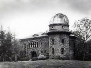 Later view (c. 1950) of the second Dudley Observatory