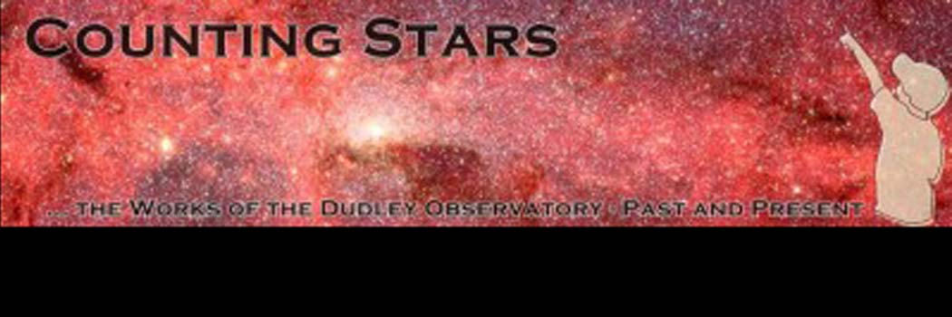 CHECK OUT THE NEW DUDLEY OBSERVATORY HISTORY BLOG!