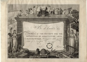 Society for the Promotion of Agriculture, Arts, and Manufactures