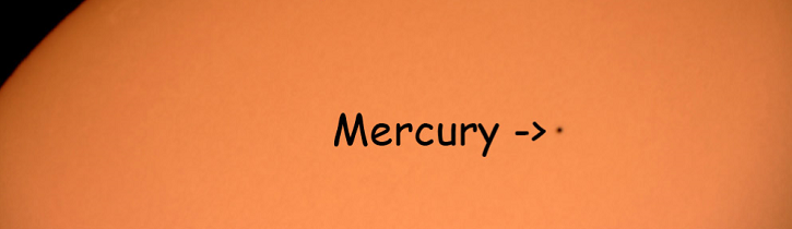 Bring your class to miSci on May 9th for the Mercury Transit!