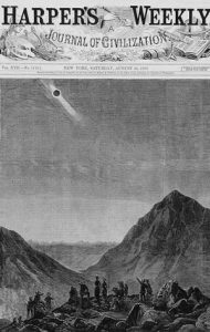 Harper's Weekly, July 1878 Eclipse